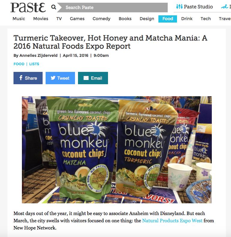anneliesz paste food 2016 expo west trends