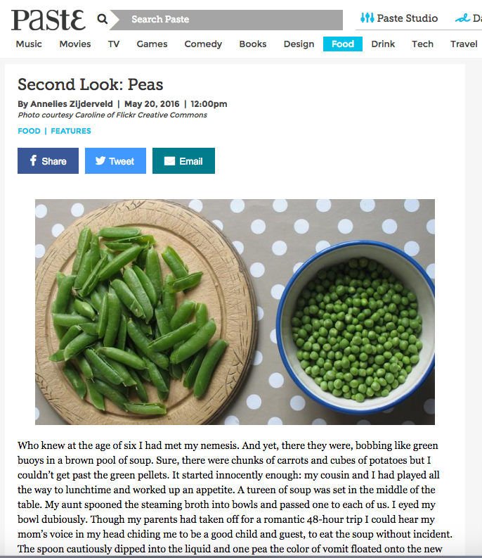 Paste Magazine - Second Look - Peas_anneliesz