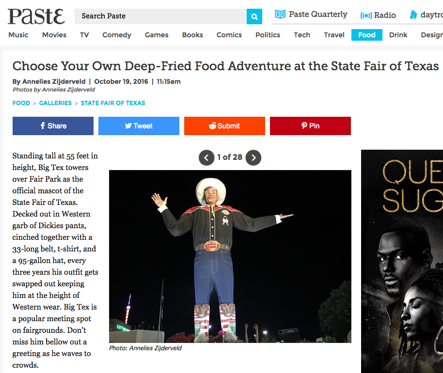 State Fair of Texas - anneliesz - Paste Magazine